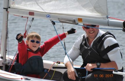 On a blustery and fluky day, tenboats competed for the GP 14Open for 2017.   Phil Quarry and crew Daniel Quarry won the event with Simon Fletcher and John Cookson in second place and Andy Allan and Elaine Bethell in third position. Congratulations to all sailors for a close and competitive event.  Read 4 more paragraphs