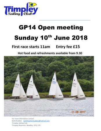 GP14 open | Trimpley Sailing Club